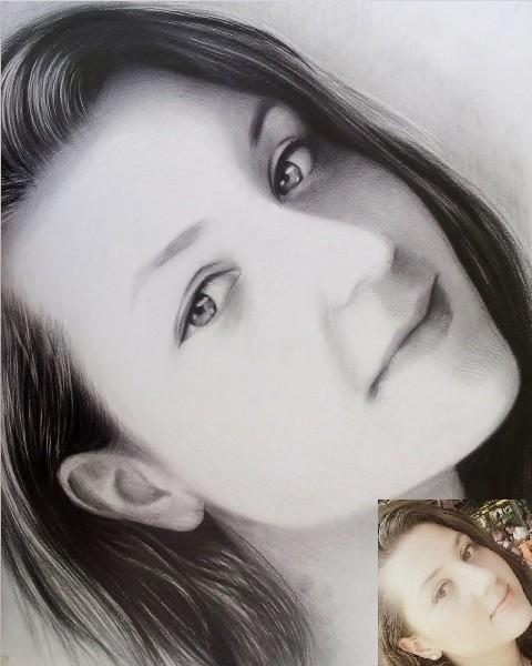resimser karakalem portre resim