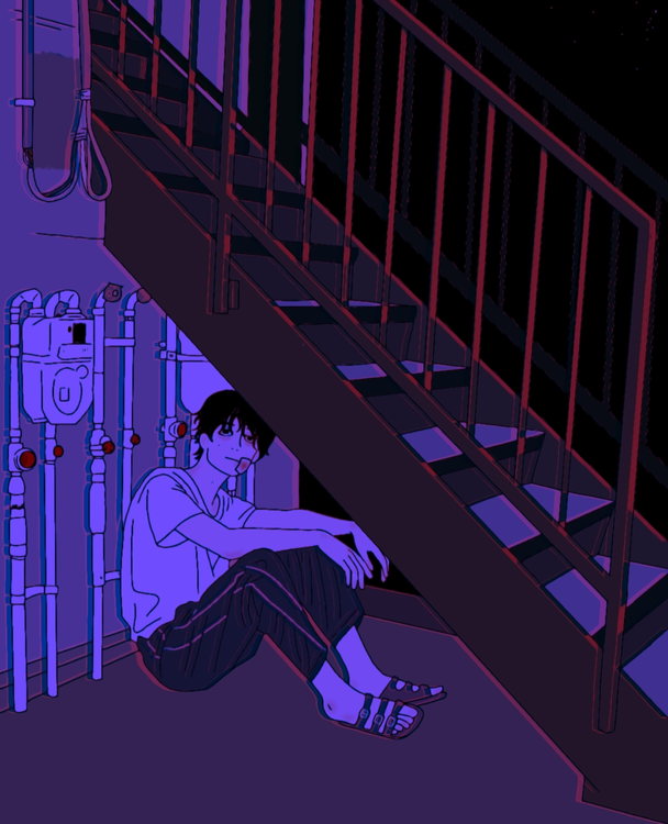 Under Stairs, 2021 - artist Anh Konge