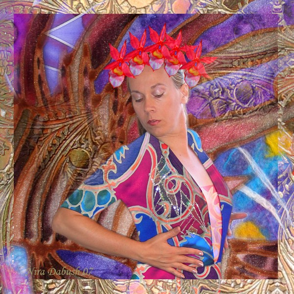 Wearing her Silks - The Light Within