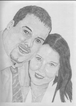 Missy and friend David
