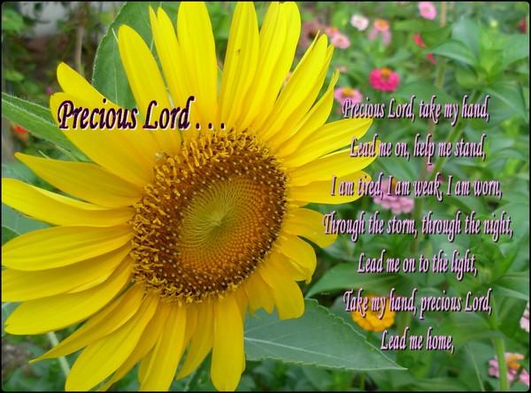 Precious Lord . . .