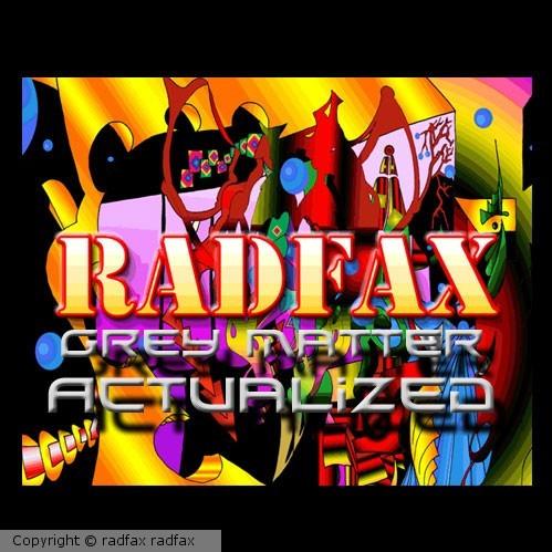 Grey Matter Actualized Radfax mixed album