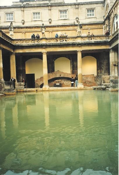 Roman Baths; Bath, England