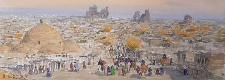 Panorama of Samarkand