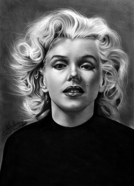 Norma Jean drawing