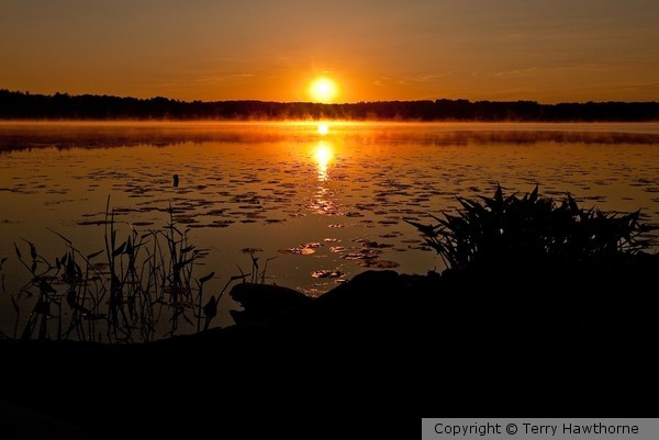Round Lake Sunrise
