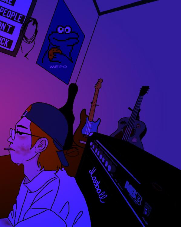 THE ROOM - artist Anh Konge, 2021.