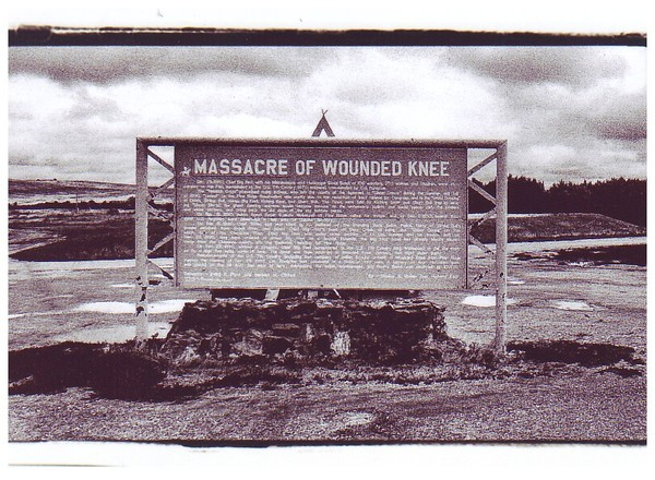 Indian Massacre Wounded Knee