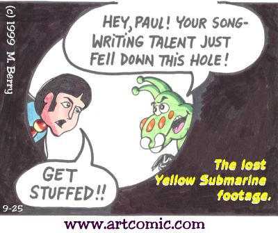 Yellow Sub:Paul and the hole