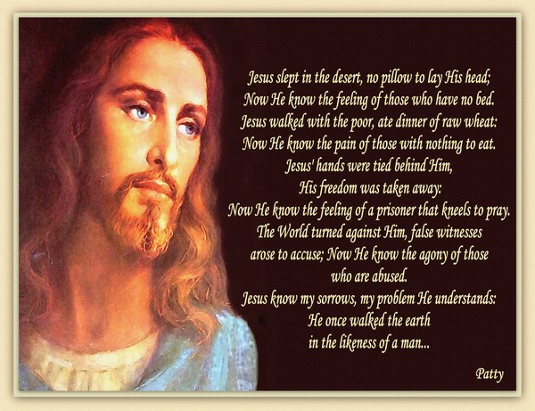 Jesus knows Our Sorrows...