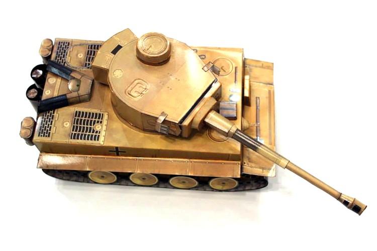 Paper Model of Tiger 1 Tank