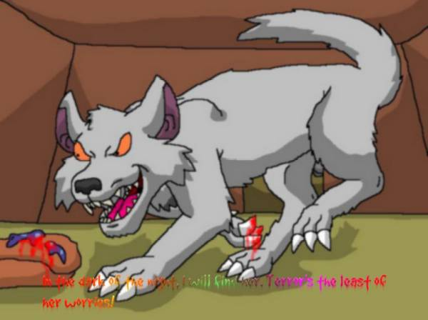 Wolf singing