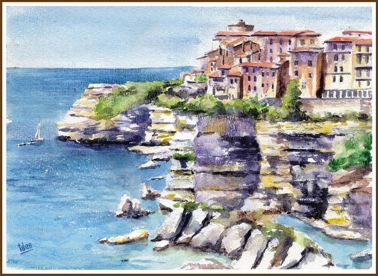 The village of Bonifacio