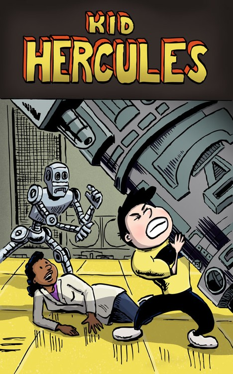Kid Hercules vs Killer Robot!