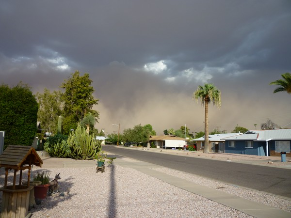 An Arizona Dust Storm