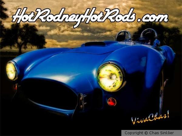 Hot Rodney Hot Rods Poster