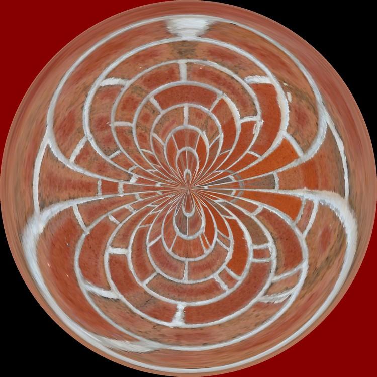 Morphed Art Globe 17