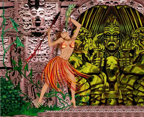 Azteca Dancer