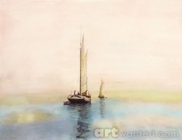 Dawn Fishing Fleet, Circa 1911