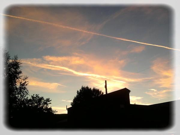The sky tonight