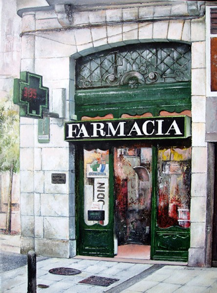 Old Pharmacy-Santander