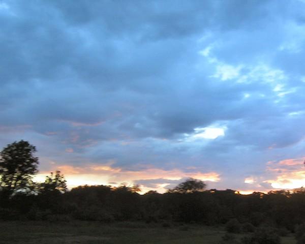 Sunset and Rain 2