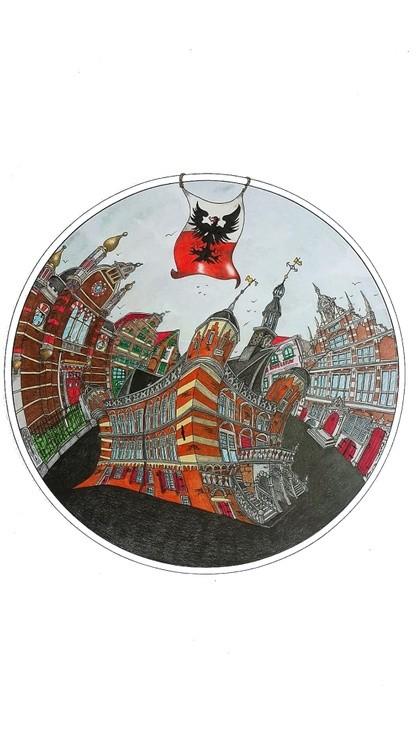 A twist of Deventer (the netherlands)