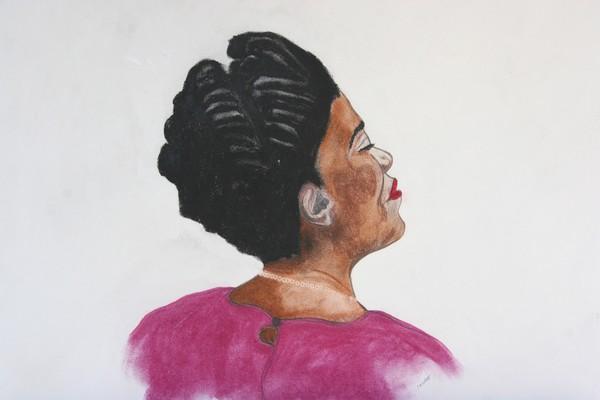 a lady