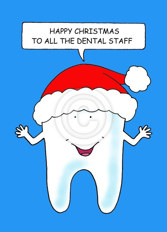 Happy Christmas to the Dental Staff