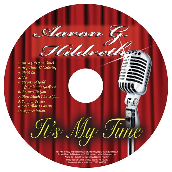 It's My Time CD