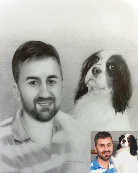 resimser köpek çizimi