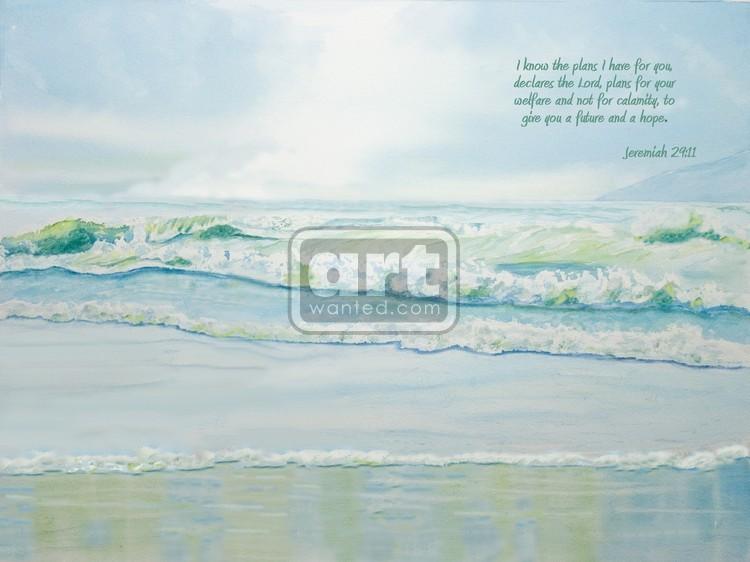 Ocean Waves - Jeremiah 29-11