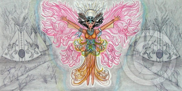 Owl Woman Fairy