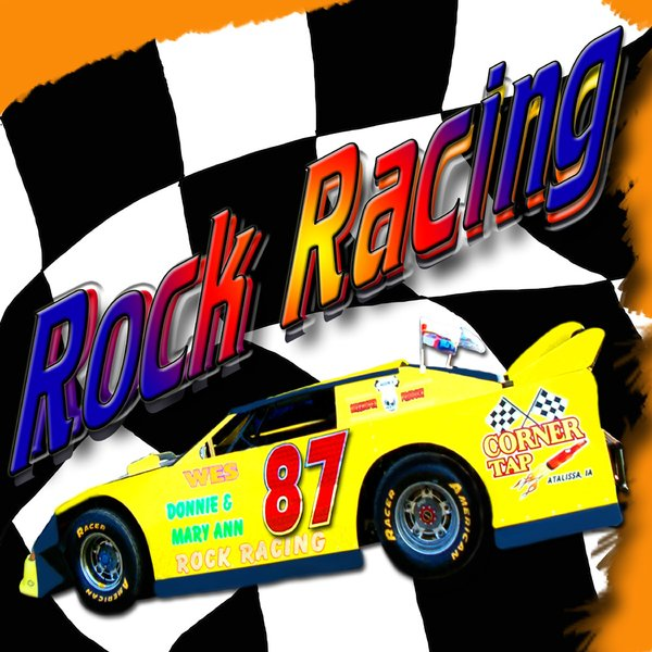 Rock Racing T-shirt Design