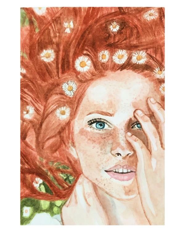 Watercolor study