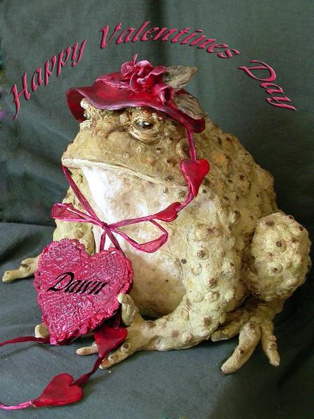 Dawn's Valentine Toad