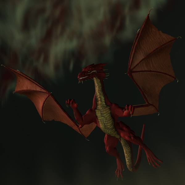 Blood Red Dragon