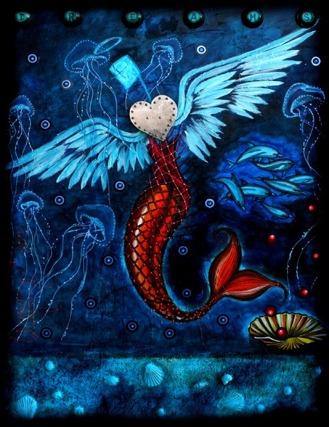 A MERMAID THAT WANTS TO BE AN ANGEL