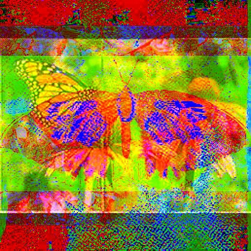 Collage Butterfly 12