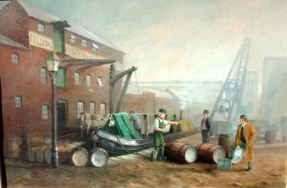 Belgrave wharf 1870