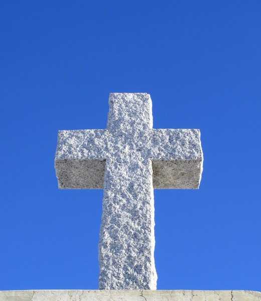 Cross Made of Stone