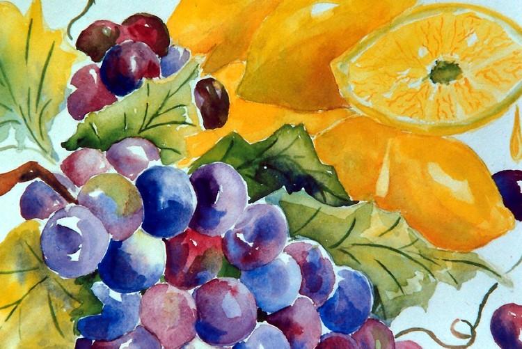 food series-sour grapes