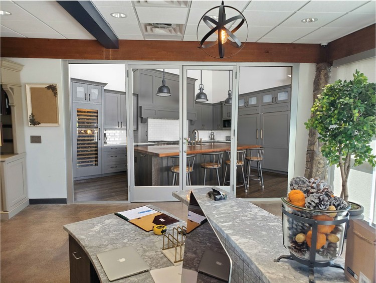 KItchen Concepts Inside Doors and Side Glass PROOF