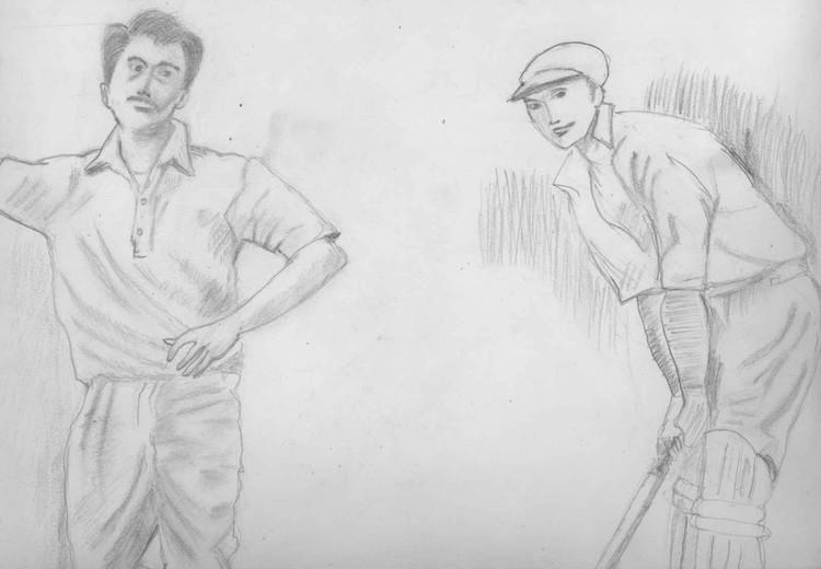 Bowler and Batsman