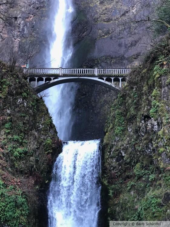 Cross Over The Waterfall