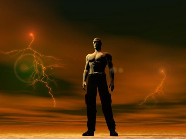 RIDDICK: afraid of the dark?