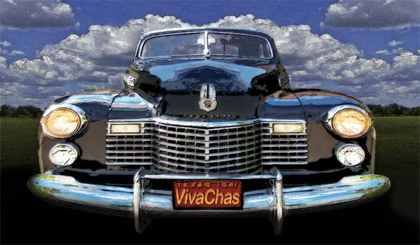 41 Cadillac Blue on Blue