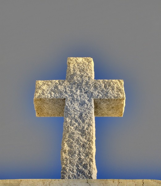 Cross Made of Stone  1