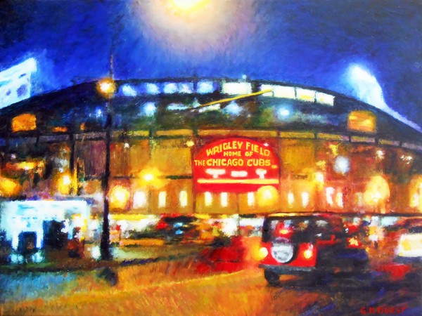 Wrigley Field-Home of the Chicago Cubs