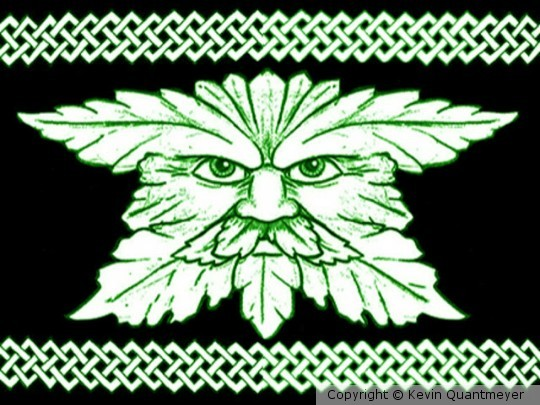 Green Man Lord of Leaves
